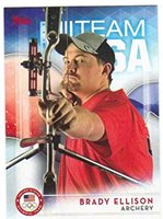 2016 Topps US Olympic Team USA Hopefuls #43 Brady Ellison Archery