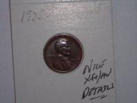 wheat penny 1928D LINCOLN CENT GREAT AU DETAILS,DOUBLE 8 ERROR 1928-D LOT #3