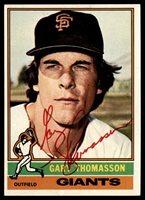 1976 Topps #261 Gary Thomasson Signed Auto Autograph 1976 Topps #261 Gary Thomasson Signed Auto Autograph