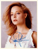 "Actress JODIE FOSTER In-Person Signed 8"" x 10"" Color Photo (TPA Guaranteed)"