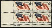#1132 4c 49-Star U.S. Flag, Plate Block [26368 LL], Mint **ANY 4=FREE SHIPPING**