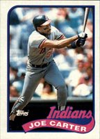 1989 Topps Baseball Card #420 Joe Carter Mint