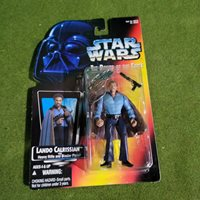 Vintage 1995 Star Wars Lando Calrissian The Power Of The Force Action Figure