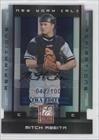 Mitch Abeita #42/100 (Baseball Card) 2008 Donruss Elite Extra Edition Aspirations Die-Cuts Autographs [Autographed] #75