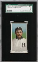 Rare 1909-11 T206 Dutch Revelle Old Mill Southern League Richmond SGC 60 / 5 EX