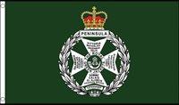 Royal Green Jackets Military 5ft x 3ft (150cm x 90cm) Flag