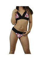 Wisconsin Badgers NCAA Lingerie Lace Cami Tie Top, G-String CUSTOM Sizing