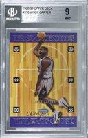 1998-99 Upper Deck Vince Carter #316 BGS 9 Rookie