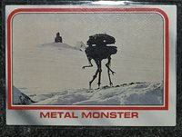 1980 Star Wars Empire Strikes Back Trading Card # 30 Metal Monster