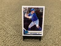 2019 Optic PETE ALONSO RATED ROOKIE RC #82 PANINI OPTIC METS