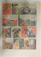 Hopalong Cassidy Sunday Page by Dan Spiegle from 10/18/1953 Size: 11 x 15 inches
