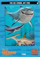 FINDING NEMO FILMCARDZ MOVIE 2003 ARTBOX BINDER /& CARD SET OF 72 DISNEY ALBUM