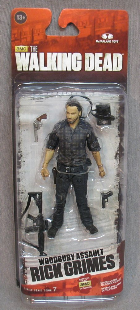 Walking Dead Series 7.5 Woodbury Assault Rick Grimes AMC