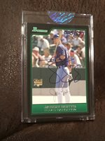 2006 Bowman Jason Botts RookIe Autograph Originals Buyback /577 Rare Auto RC !!