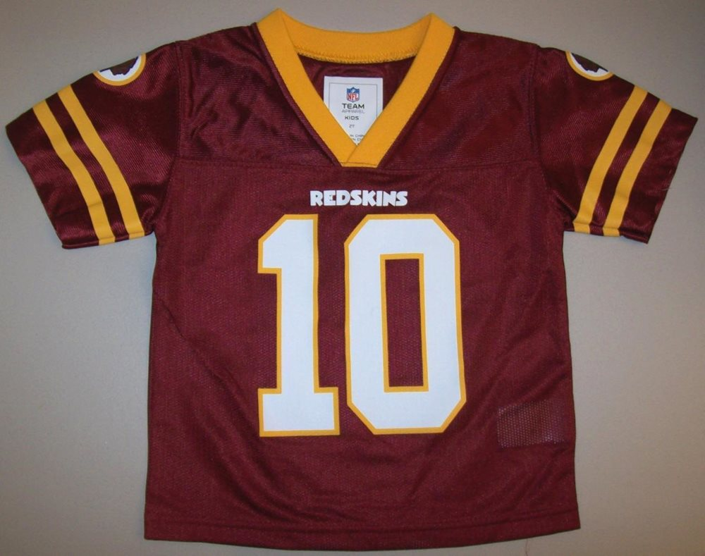 the latest 76f53 3324a ~ WASHINGTON REDSKINS ~ GRIFFIN RG III #10 ~ NFL Football Away Jersey 2T /  3T