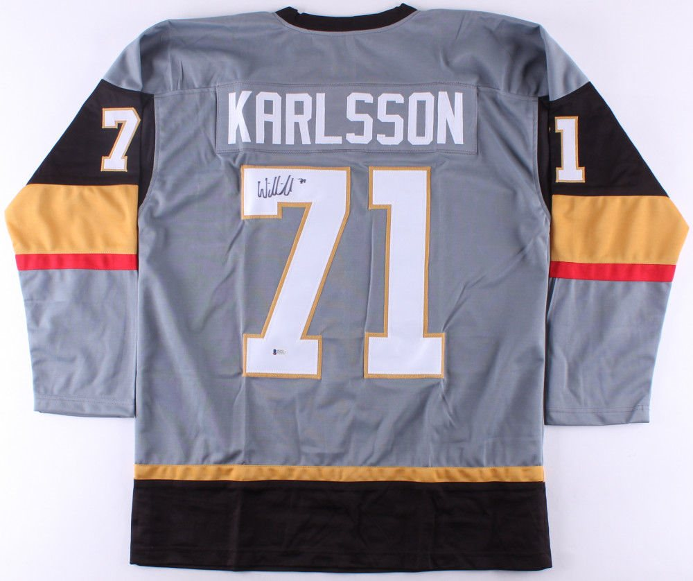 wholesale dealer 62608 51b29 William Karlsson Signed Las Vegas Golden Knights Jersey (Beckett COA)