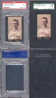 1895 mayo cut plug n300 Regular (Baseball) Card# 10 charlie ganzel (psa ) of the Boston Good Condition