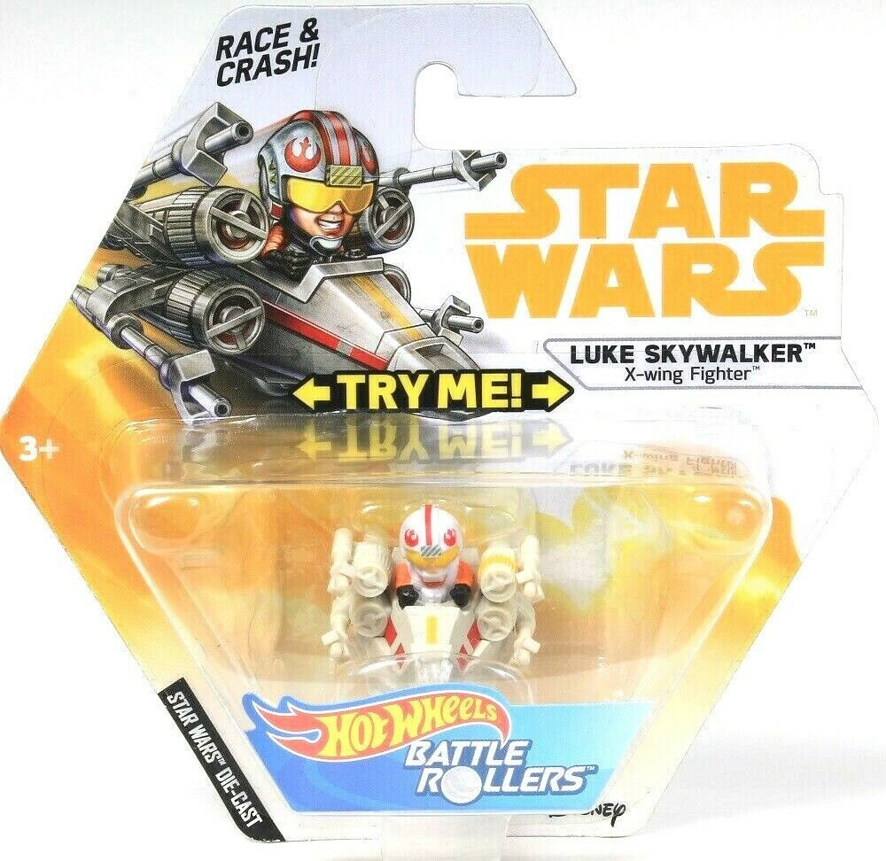 Star Wars Battle Rollers Luke Skywalker X-Wing Fighter