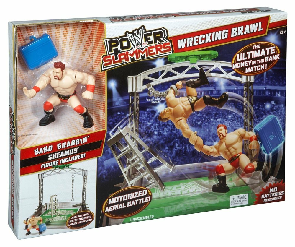 WWE Power Slammers Kane Wrestling Ages 6 Mattel New Toy Boys Girls Fight Gift
