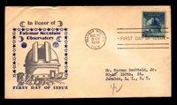 US SC# 966 FDC / Sanders Cachet / Light Cnr Crease - L6043