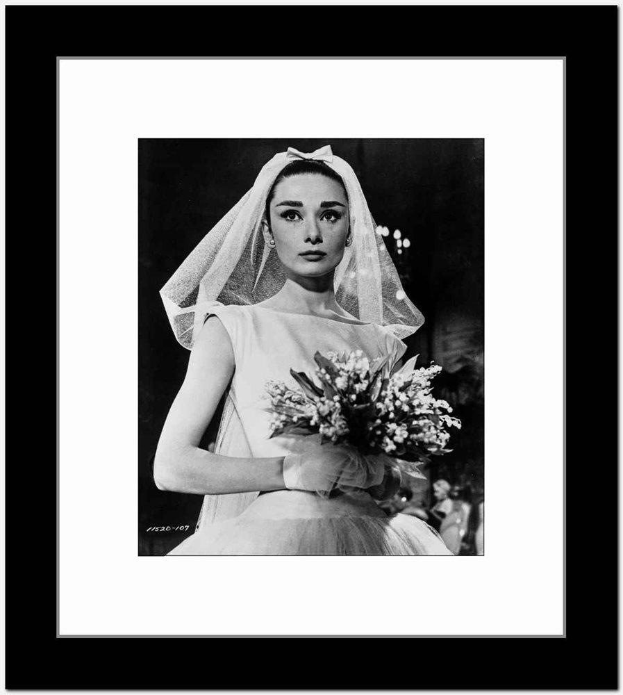Audrey Hepburn Funny Face Wedding Dress High Quality Ph