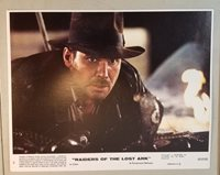 VINTAGE 1981 8X10 RAIDERS OF THE LOST ARK INDIANA JONES MOVIE LOBBY CARD 70A