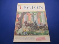 1935 The American Legion Monthly Magazine, February 1935 Cover: Deep South L957