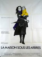 Poster Folded 47 3/16x63in The Home Sub The Trees 1971 Faye Dunaway, Langella TB