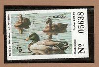 NV16 - Nevada State Duck Stamp. MNH. OG.