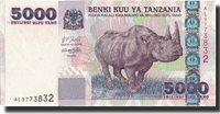 5000 Shilingi Undated (2003) Tanzania Banknote, Km:38