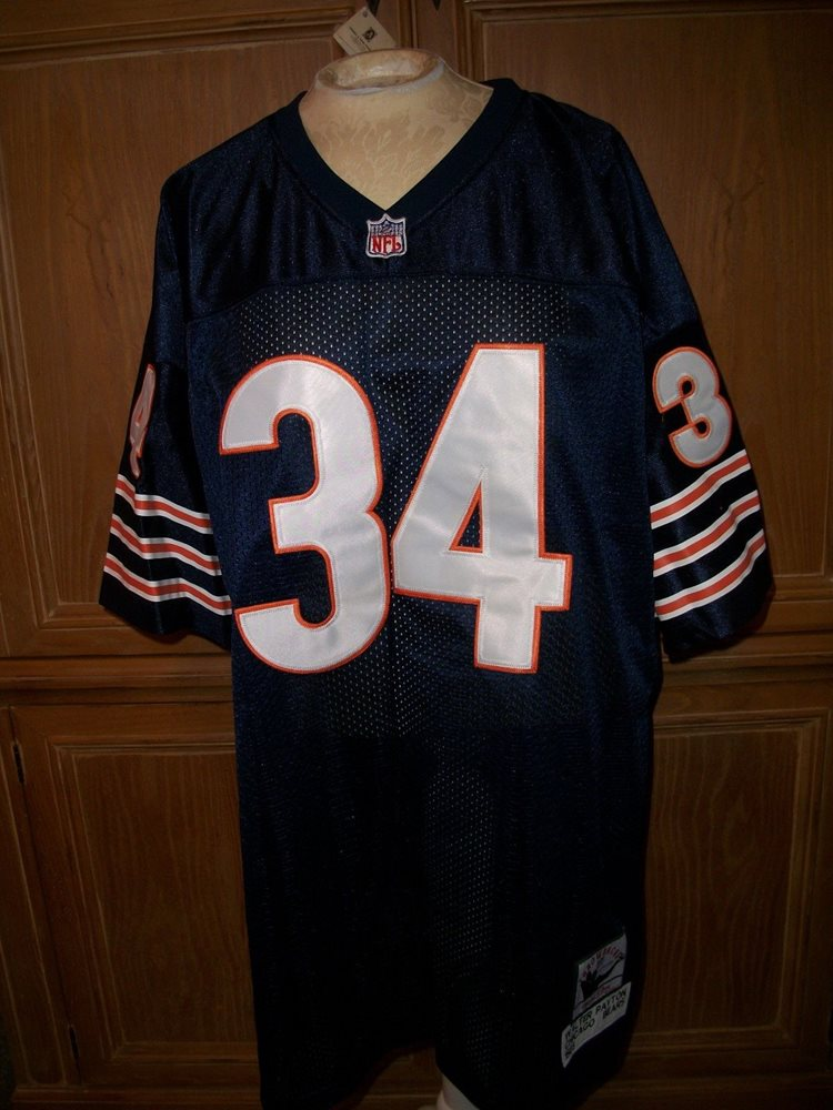 more photos ee8dc 5f145 New WALTER PAYTON Chicago Bears 1985 Mitchell & Ness Nostalgia Throwback  Jersey