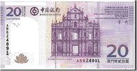 20 Patacas 2008 Macau Banknote