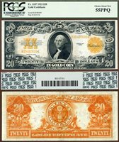 US Currency 1922 $20 Gold Certificate FR-1187