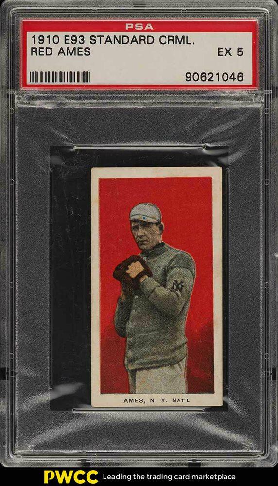 Ebay Auction Item 143194031580 Baseball Cards 1910 E93 Standard Caramel
