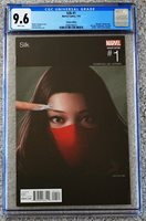 """2016 Silk #1 """"Hip Hop"""" Variant Cover - CGC Graded 9.6 - NM+"""