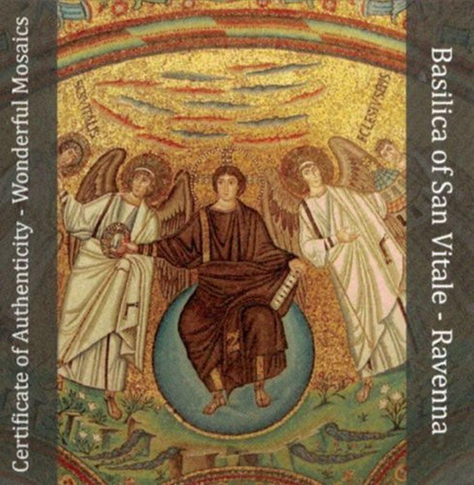 5$ 2017 Cook Islands Basilica San Vitale Wonderful Mosaics