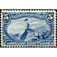 US 288 Early Commemoratives F - VF LH