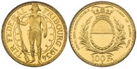 SWITZERLAND. 1934-B AV 100 Francs Shooting Thaler. PCGS MS67 Bern. X S19