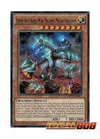 SUPER ANTI-KAIJU WAR MACHINE MECHA-DOGORAN 3X YU-GI-OH CARD RARE SHVI-EN088