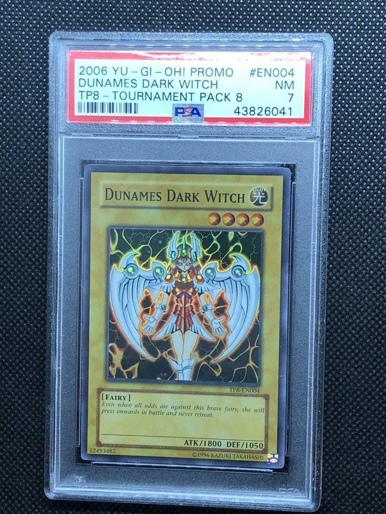 Yugioh TP8-EN004 Dunames Dark Witch Super Rare VERY HARD TO FIND BONUS