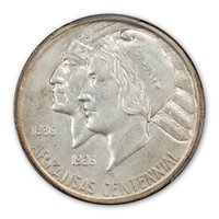 1937-D 50C Arkansas MS67 PCGS