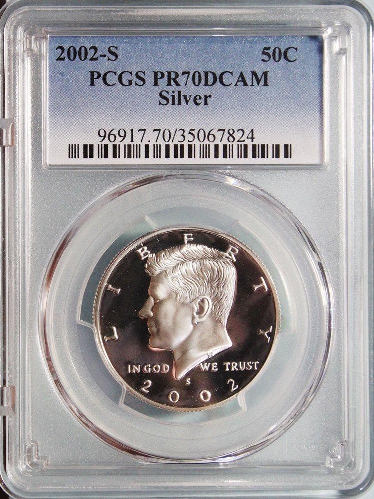 2002-S Silver Kennedy Half Dollar PR-69 PCGS