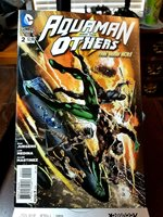 DC Modern Age Comic Book Lot of 8. Aquaman and the Others:The New 52. 2014-2015