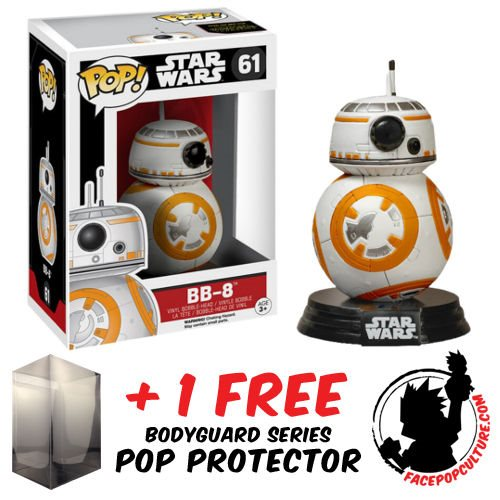 BB-9E Chrome Episode VIII The Last Jedi Exclusive Pop Vinyl Star Wars #1