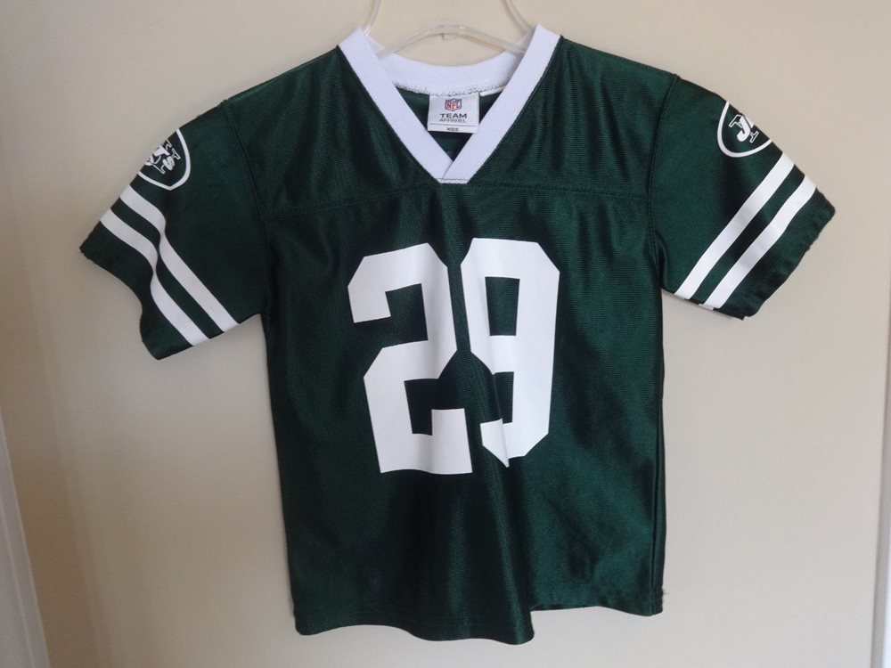 new products 50773 20b6c Vintage Leon Washington # 29 New York Jets Jersey Youth Medium NFL Team  Apparel