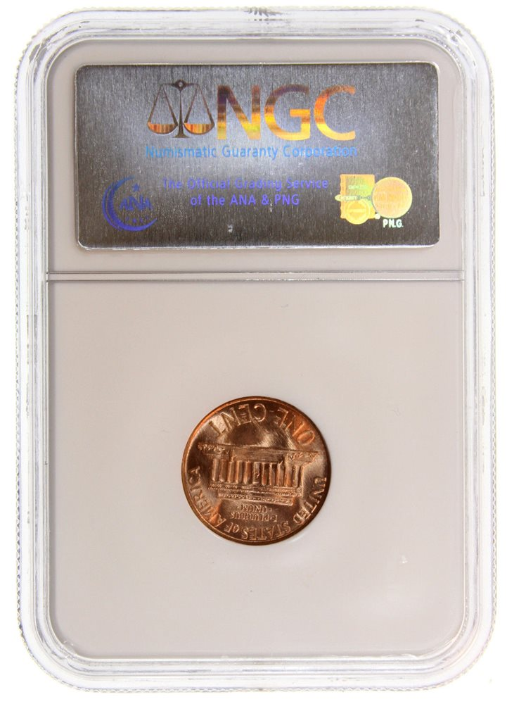 1964-D LINCOLN CENT NGC MS66RD
