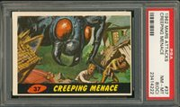 "1962 Mars Attack #37 CREEPING MENACE PSA 8 O/C NM-MT """"1962 Mars Attack #37 CREEPING MENACE PSA 8 O/C NM-MT """""