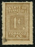 SRS TN T51a 1928-29 1c brown used, F-VF