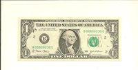 """""""00800230"""" .. 2003 $1 B 0080 0230 G .... POKER NUMBER ... 5-0s .... FRN"""