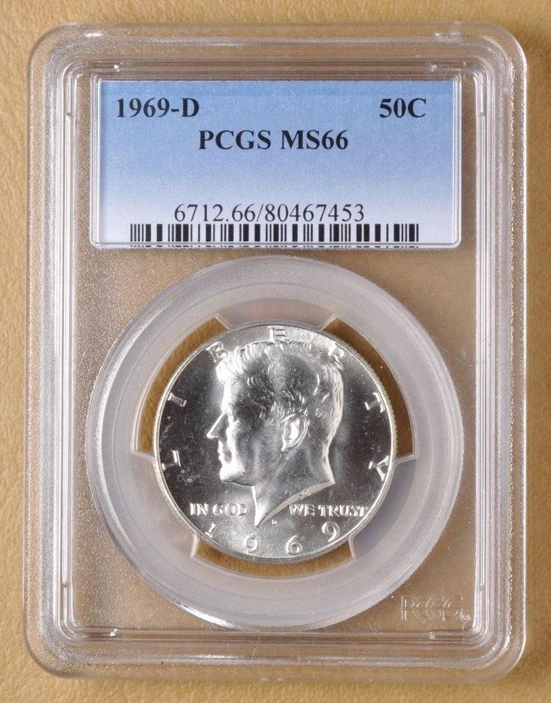 2018 P Kennedy 50c Half Dollar PCGS MS66